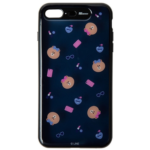 new style e535d 9adcc NEW Line Friends Choco Light Up Case - iPhone 7/8 NWT